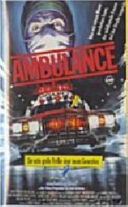 Ambulance VHS-Video Bild