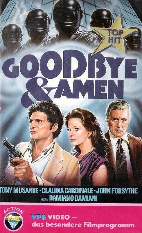 Goodbye und Amen VHS-Video Bild