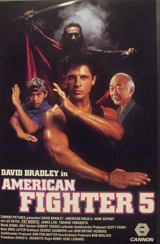 American Fighter 5 VHS-Video Bild