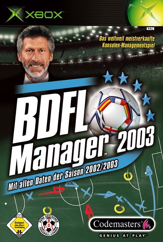 BDFL Manager 2003 XBox Bild