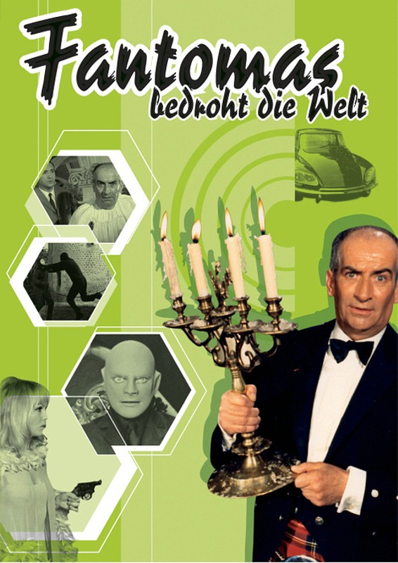 Fantomas bedroht die Welt DVD Bild