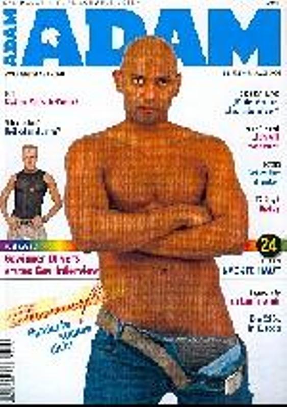 Adam - August 2004 Gay Buch / Magazin Bild