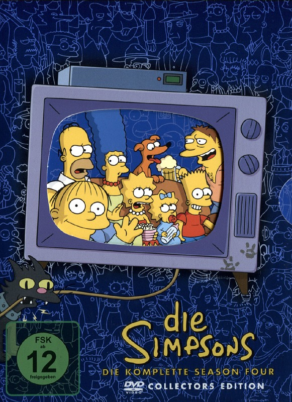 Die Simpsons - Season 04  [CE] [4 DVDs] (Digip.) DVD Bild