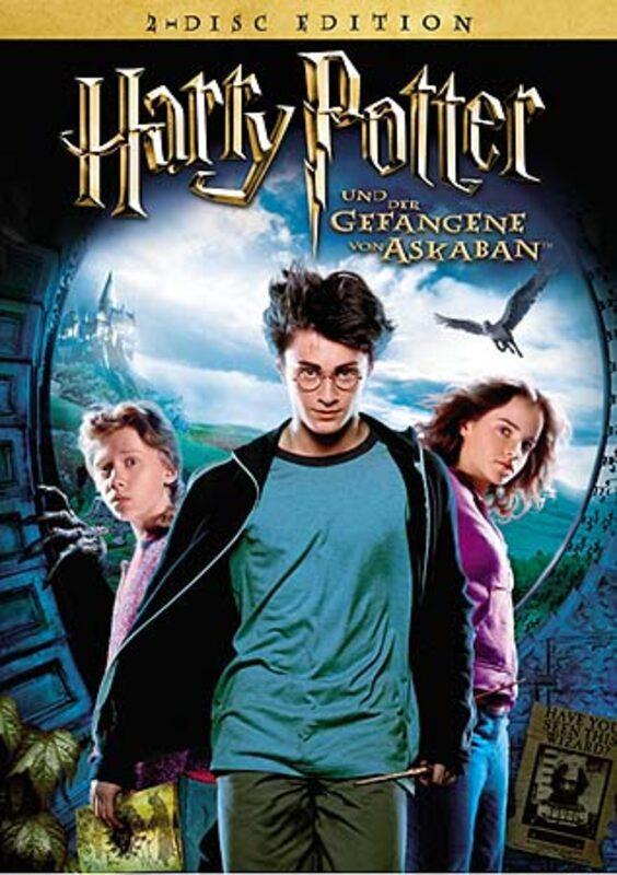 Harry Potter und der Gefangene von Askaban DVD Bild