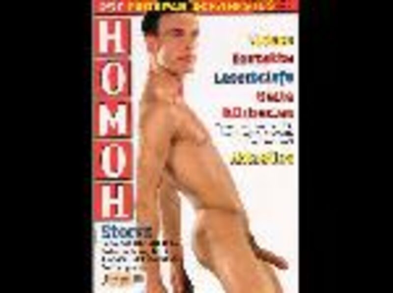 Homoh 257 Gay Buch / Magazin Bild