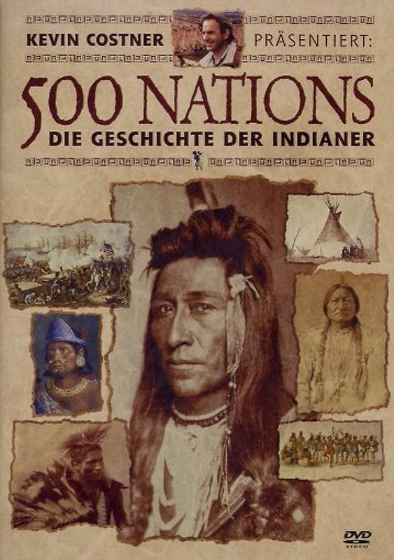 500 Nations - Die Geschichte d. Indianer [2 DVD] DVD Bild