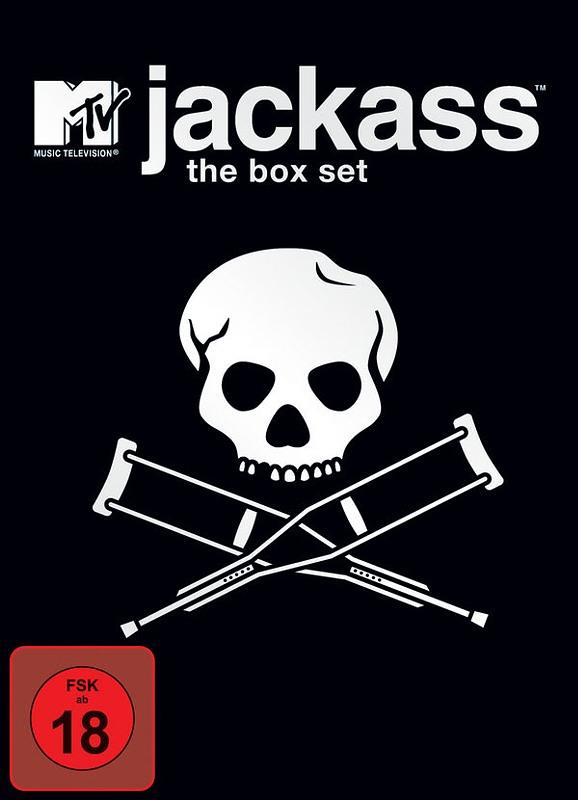 Jackass - Volume 1-3 Box Set  [4 DVDs] DVD Bild