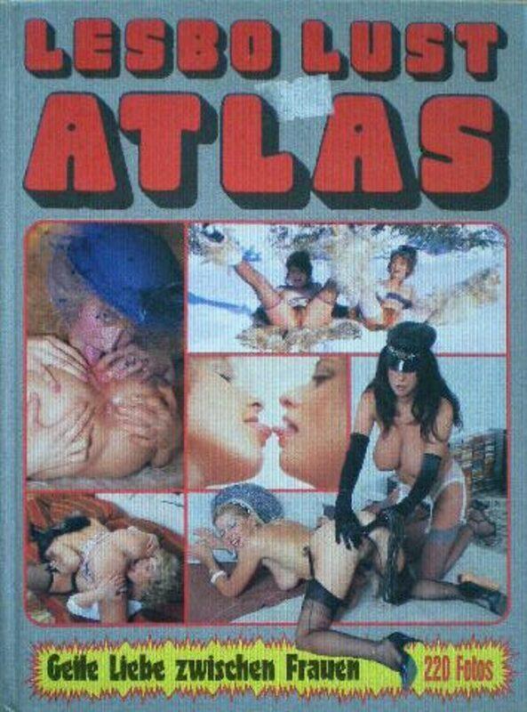 Lesbo Lust Atlas Buch Bild