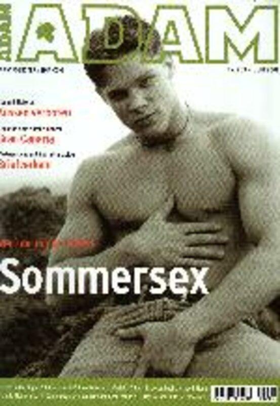 Adam Nr. 203 Gay Buch / Magazin Bild