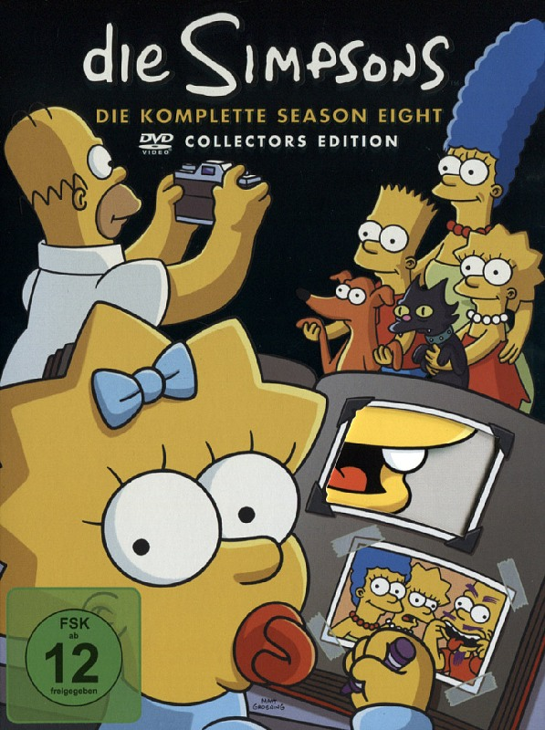 Die Simpsons - Season 08  [CE] [4 DVDs] (Digip.) DVD Bild