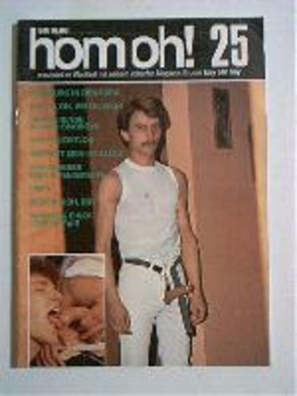 Homoh Nr.25 Gay Buch / Magazin Bild