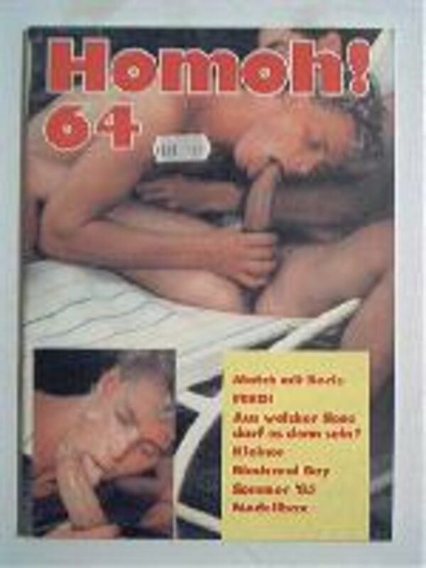 Homoh Nr.64 Gay Buch / Magazin Bild