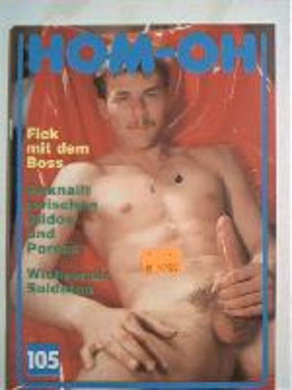 Homoh Nr.105 Gay Buch / Magazin Bild