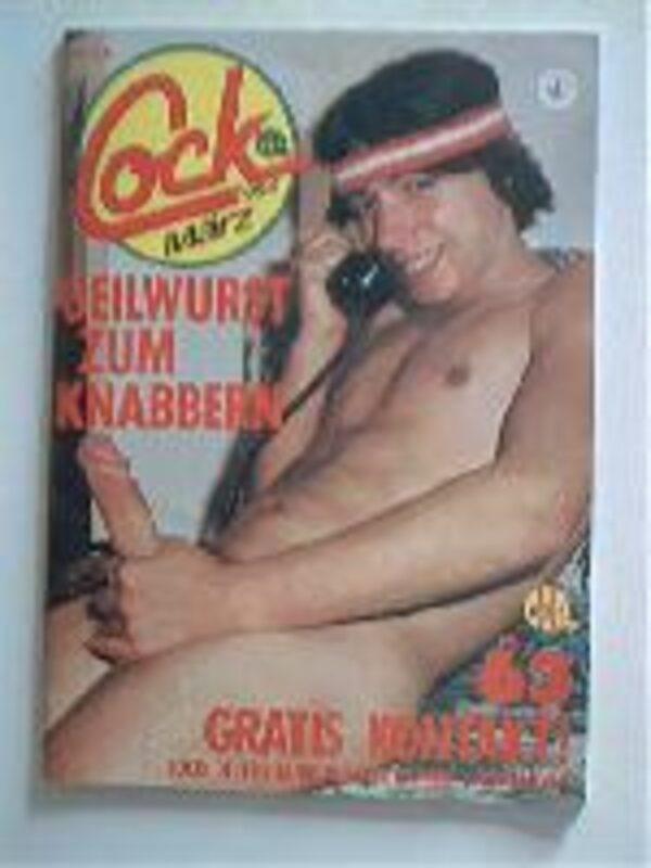 Cock Nr.63 Gay Buch / Magazin Bild