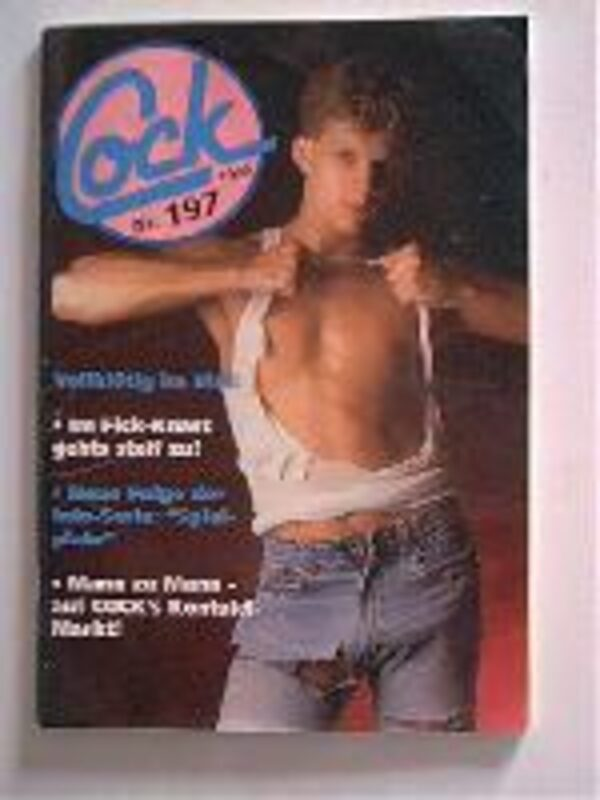 Cock Nr.197 Gay Buch / Magazin Bild
