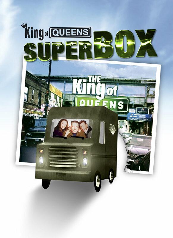King of Queens - Superbox/Season 1-9  [36 DVDs] DVD Bild