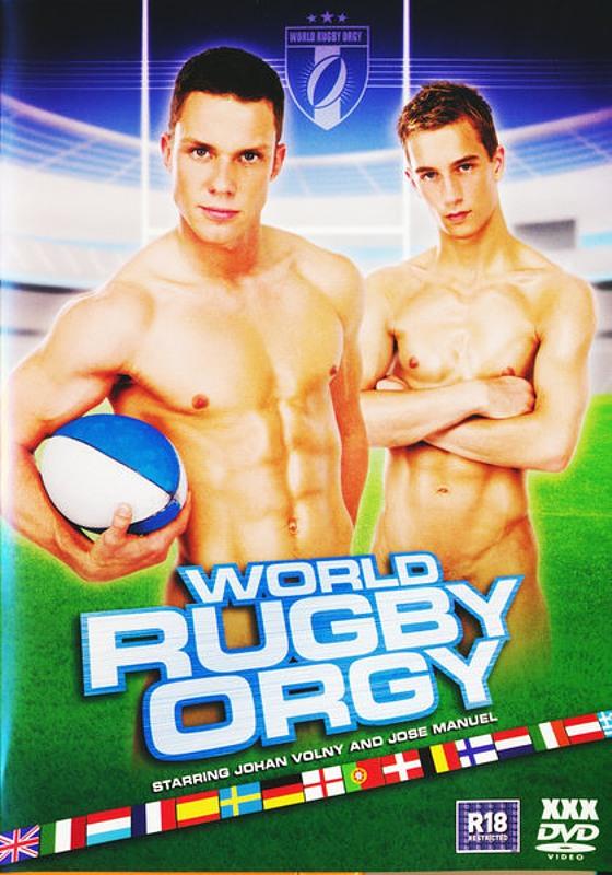 World Rugby Orgy Gay DVD Bild
