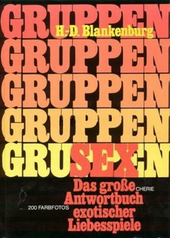 Gruppensex Buch Bild