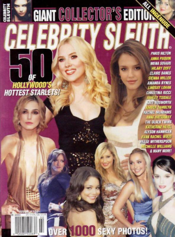 Celebrity Sleuth - Giant Collectors Edition #4 Magazin Bild