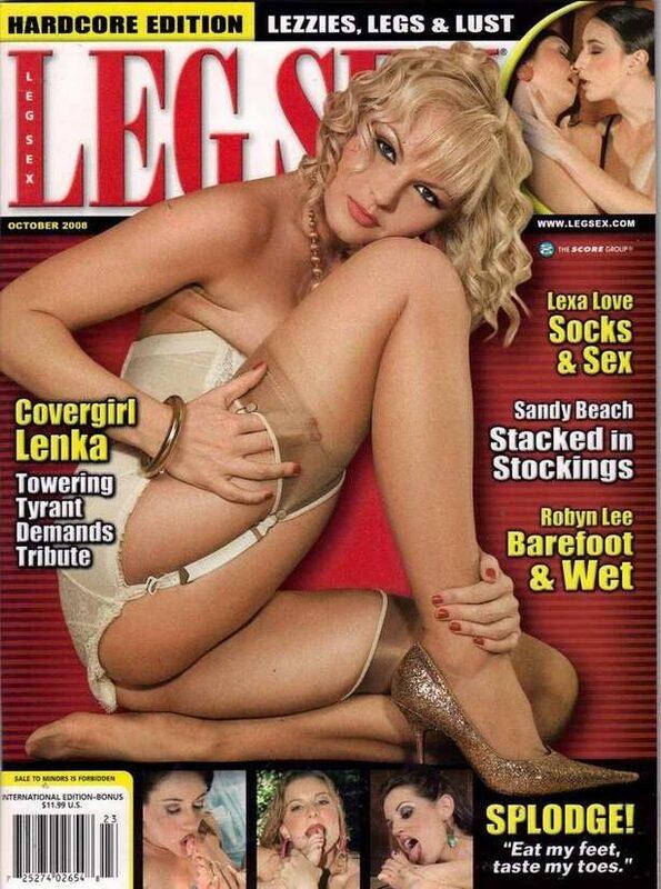 Leg Sex Oktober 2008 + DVD DVD-Magazin Bild