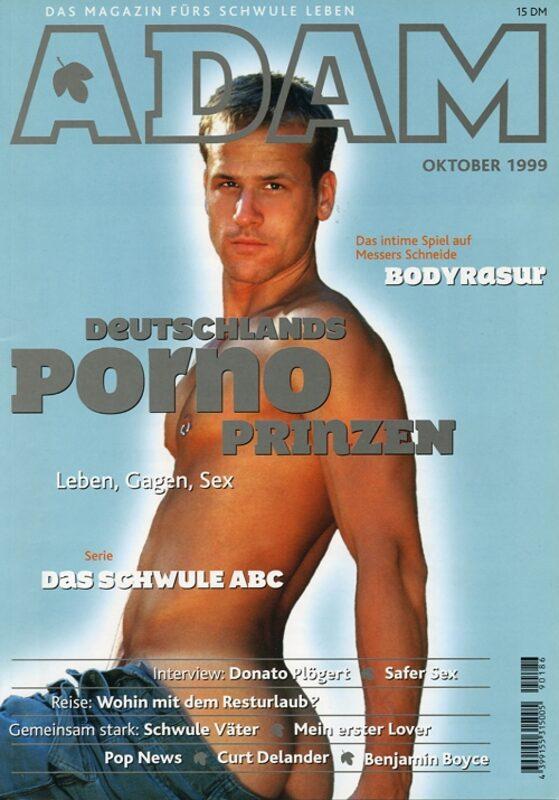 Adam Oktober 1999 Gay Buch / Magazin Bild