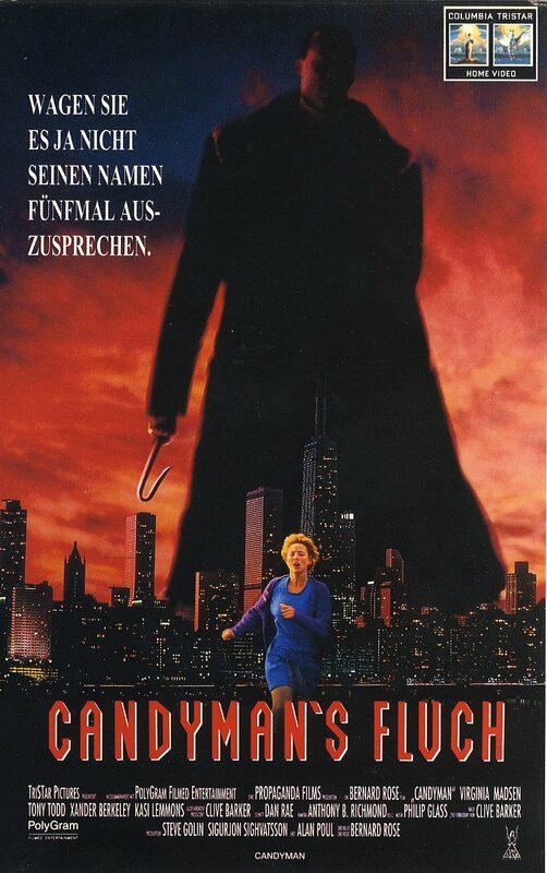 Candyman´s Fluch VHS-Video Bild