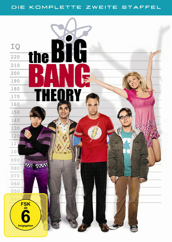 The Big Bang Theory - Staffel 2  [4 DVDs] DVD Bild