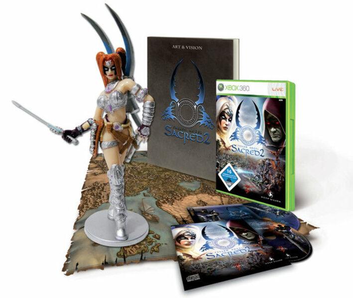 Sacred 2 - Fallen Angel Collectors Edition XBox 360 Bild