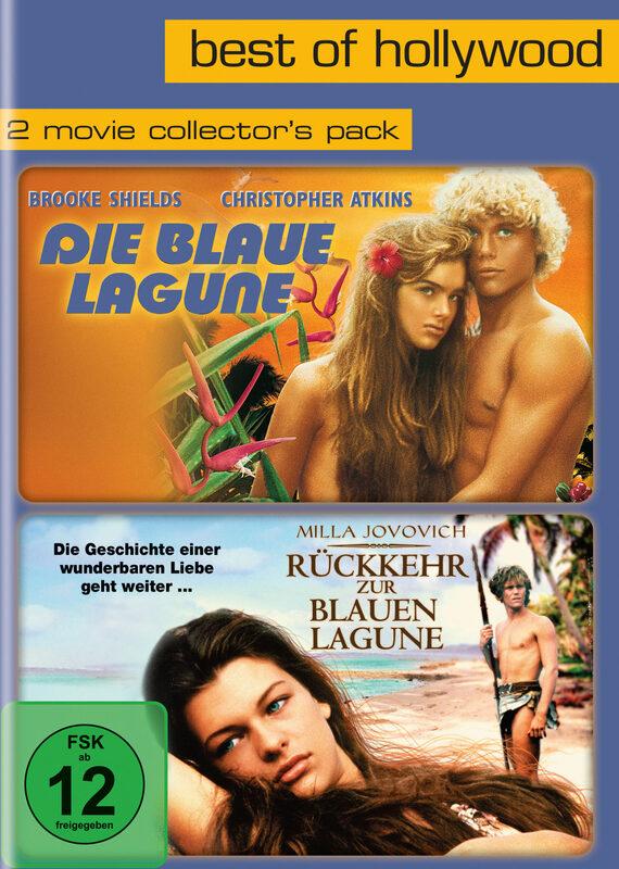 Die blaue Lagune/Rückkehr zur blauen..  [2 DVDs] DVD Bild