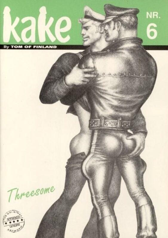 Tom of Finland - Kake Nr. 6 Gay Buch / Magazin Bild
