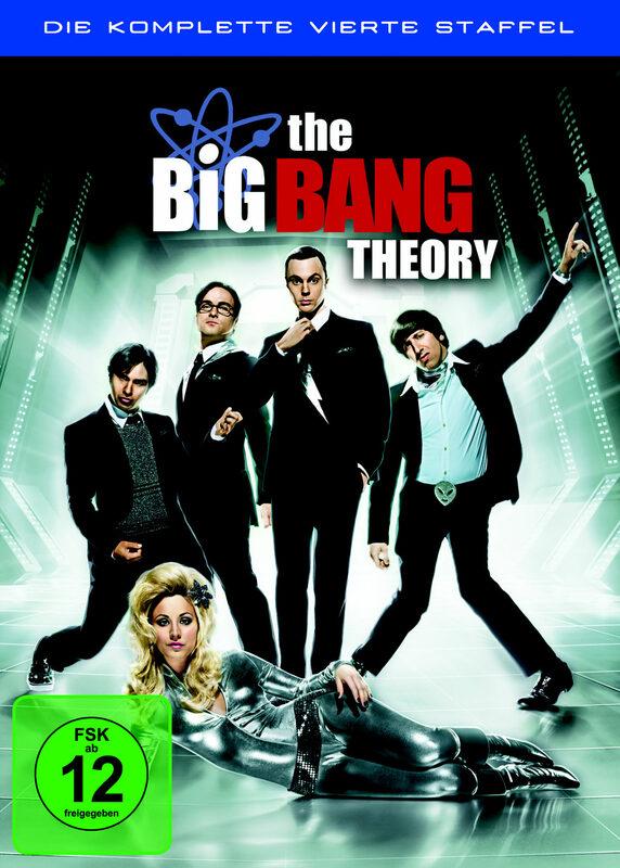 The Big Bang Theory - Staffel 4  [3 DVDs] DVD Bild