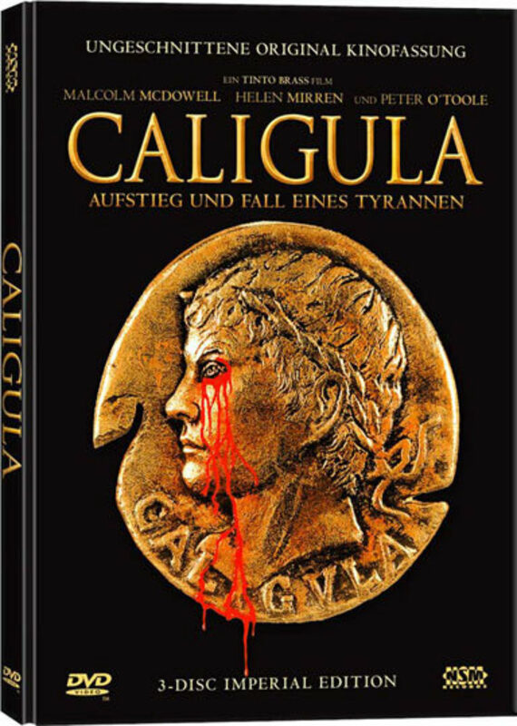 Caligula - Imperial Edition  [3 DVDs] DVD Bild