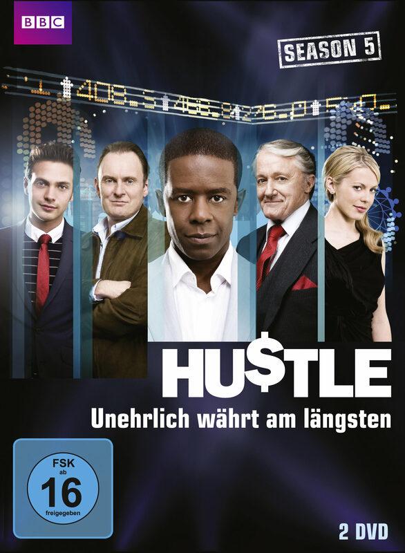 Hustle - Unehrlich währt.. - Staffel 5  [2 DVDs] DVD Bild