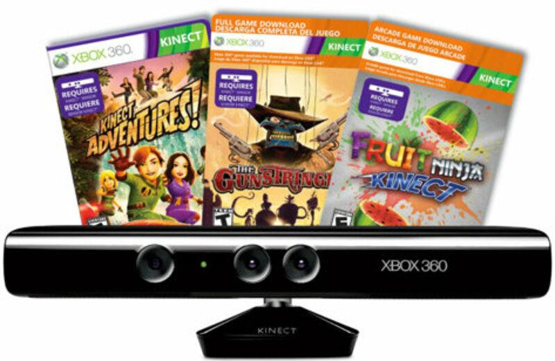Xbox 360 Kinect Spiele