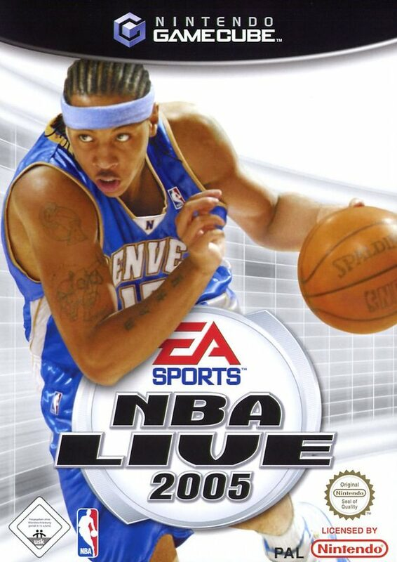 NBA Live 2005 GameCube Bild