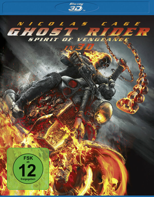 Ghost Rider: Spirit of Vengeance Blu-ray Bild