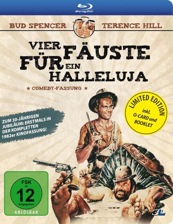 Vier Fäuste für ein Halleluja - Comedy F.  [LE] Blu-ray Bild