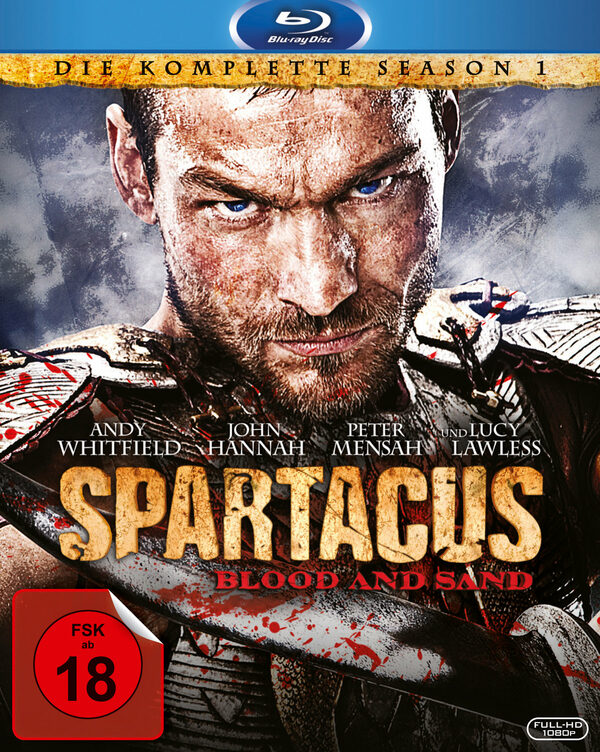 Spartacus: Blood and Sand - St. 1  [4 BRs] Blu-ray Bild