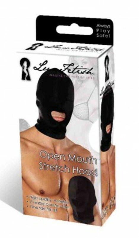 Open Mouth Stretch Hood  Bild