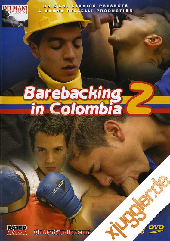 Barebacking In Columbia 2 Gay DVD Bild