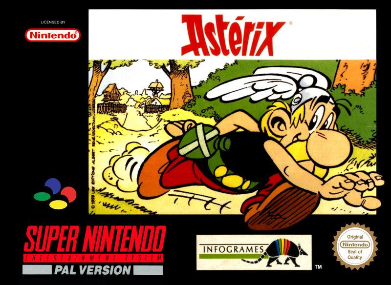 Asterix Super Nintendo Bild