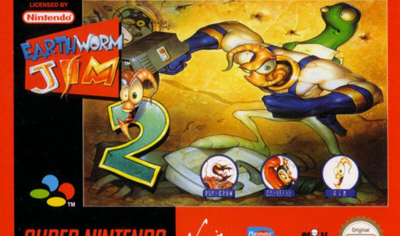 Earth Worm Jim 2 Super Nintendo Bild
