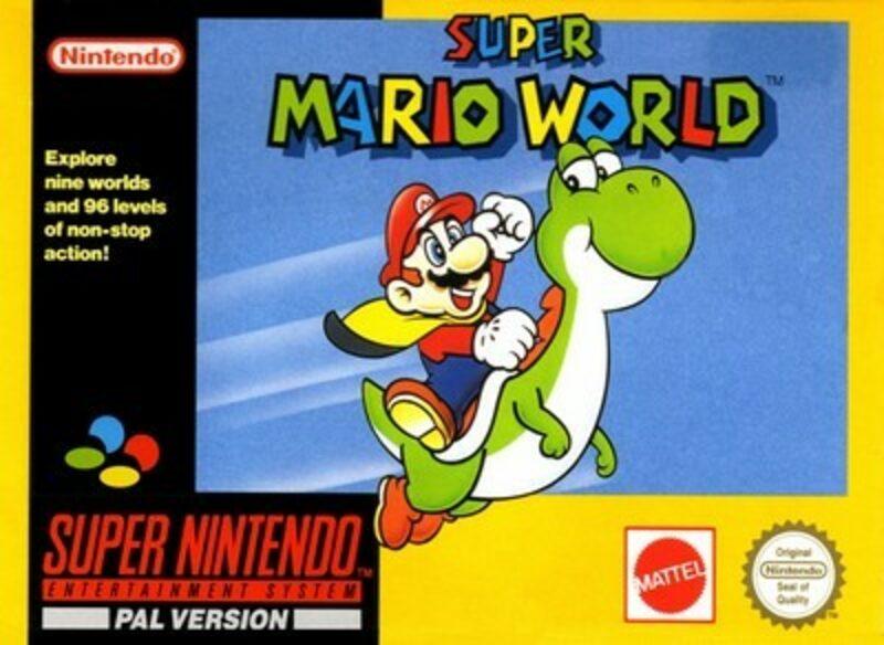 Super Mario World Super Nintendo Bild