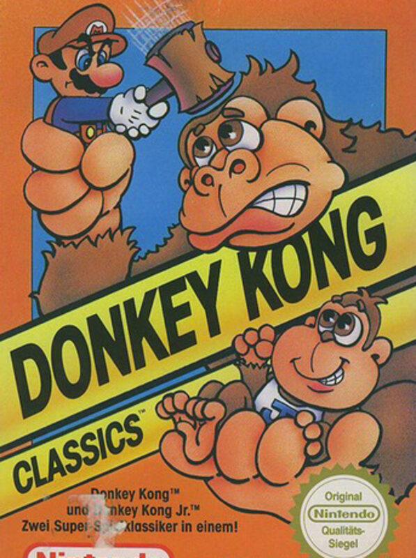 Donkey Kong (pal)  Bild