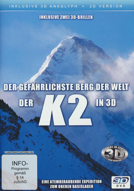 Der gefährlichste Berg der Welt - Der K2 in 3D DVD Bild