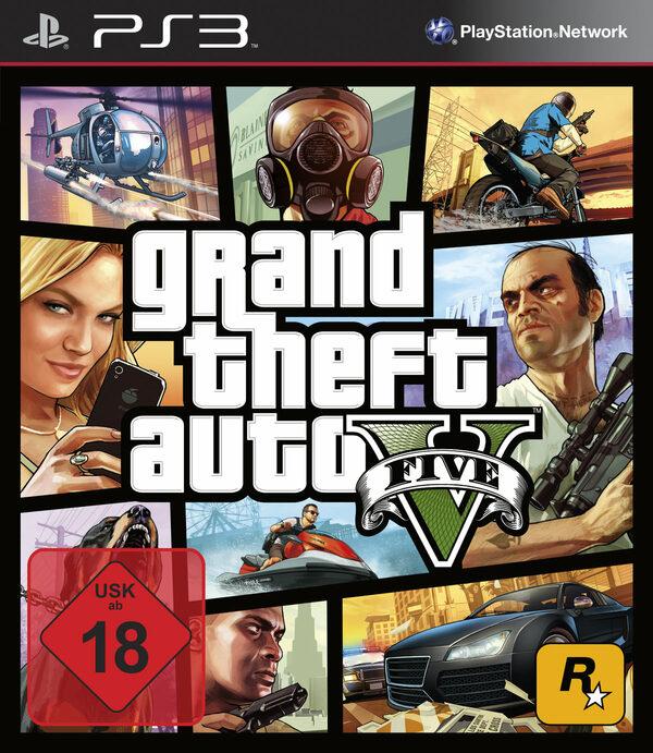 Grand Theft Auto V PS3 Bild