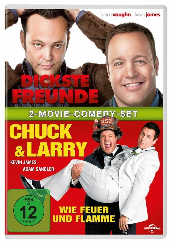 Dickste Freunde/Chuck & Larry  [2 DVDs] DVD Bild