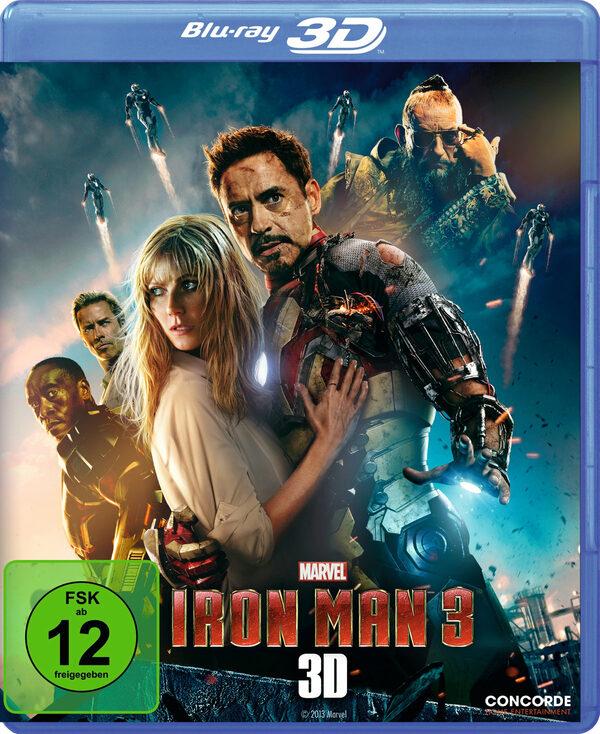 Iron Man 3  (inkl. 2D-Version) Blu-ray Bild