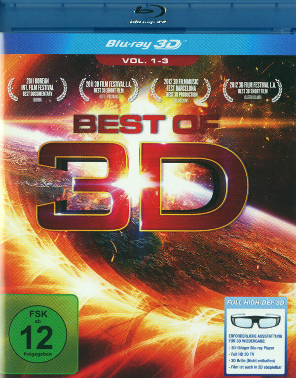Best of 3D - Vol. 1-3 Blu-ray Bild