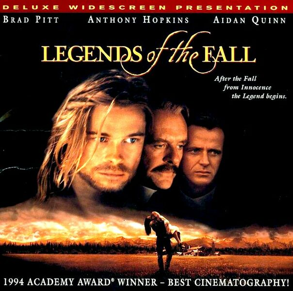 Legends of the Fall - Laserdisc US Laserdisk Bild